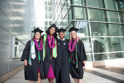 Paige Frerichs (left) Patricia Romero, Raid Alsodani, and Tracy Nevarez.