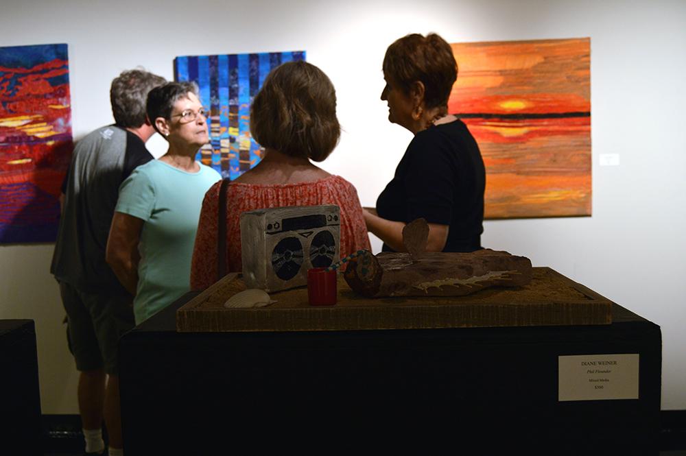 p-Art Center Open House-Artist-in-Residence-Program-Weiner-Phil-Flounder_0883