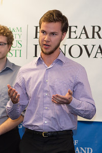 Garett Swenson of Islander Inventors.