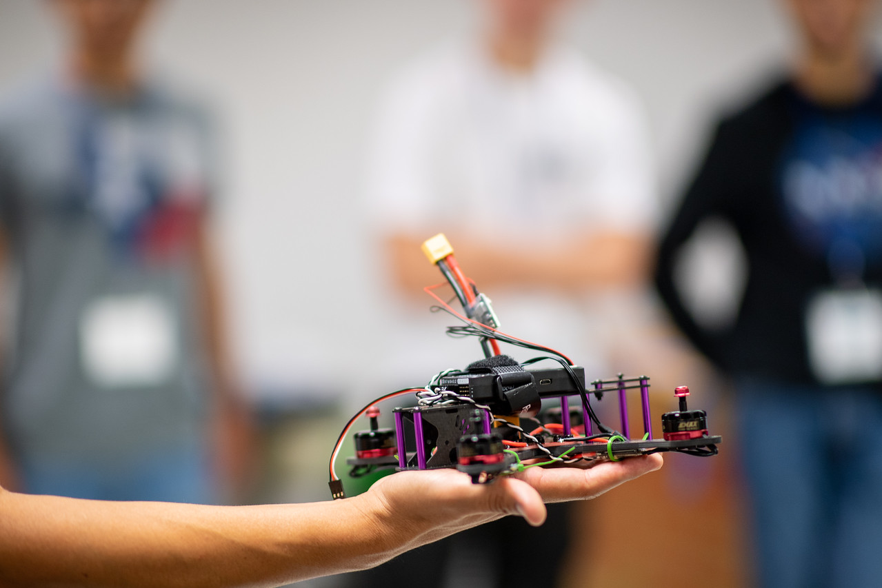 Texas A&M University-Corpus Christi Assistant Professor Dr. Luis Garcia Carrillo leads an Unmanned Aerial Systems Summer Program, teaching South Texas students about UAS technology and givin ...