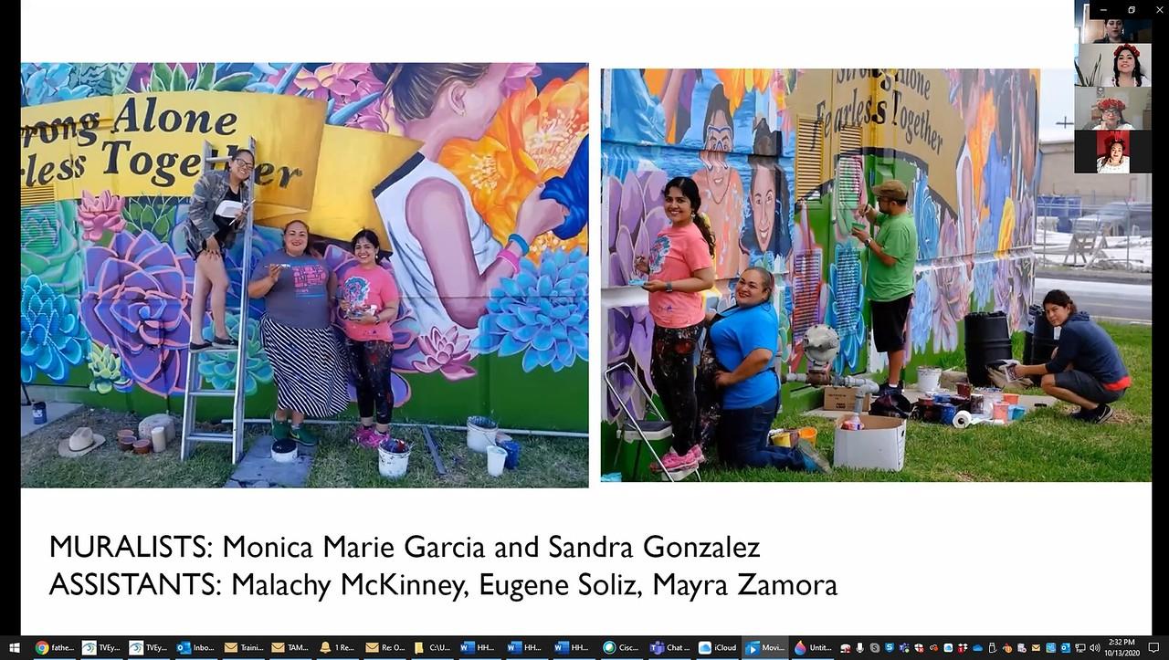 p-Las-Muralistas-Sandra-Gonzalez-YWCA mural dedication