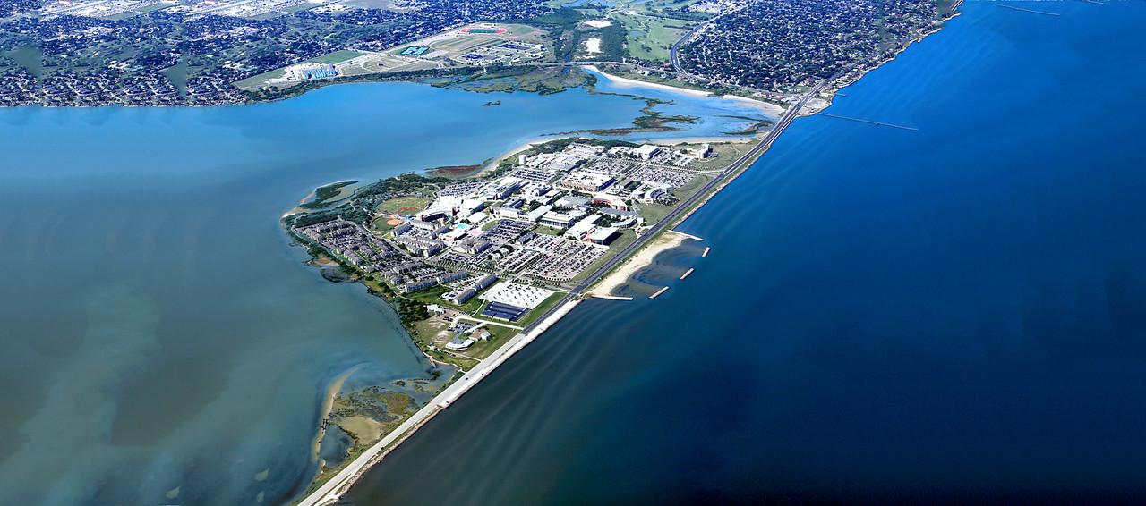 Texas A&M University-Corpus Christi Aerial.