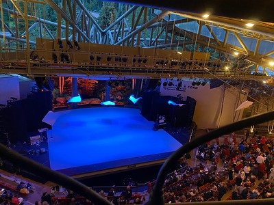 BalletX Sunset o639 Hours set at the Gerald R  Ford Amphitheatre