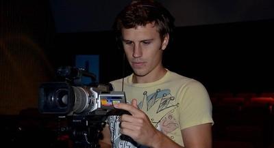 p-1Derek Dubois-Helping film a commercial at TAMU-CC