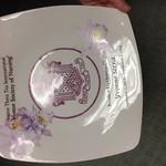 Susan Greathouse_porcelain plate