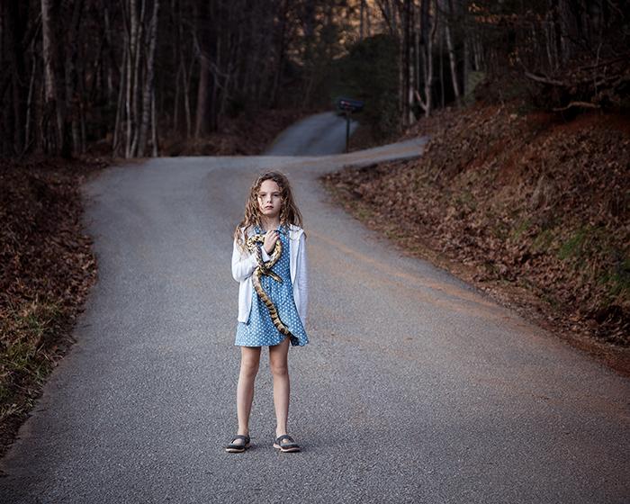 8  Untitled - Girl with Snake, Rabun, GA