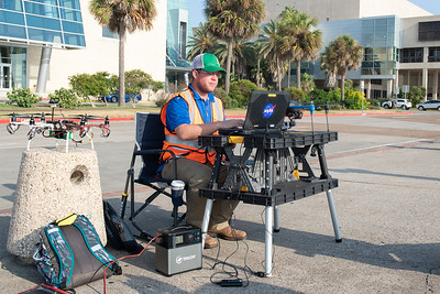 Lone Star UAS at TAMU-CC along with NASA, hosts a VIP and media day to showcase their emerging UTM drone technology in downtown Corpus Christi.