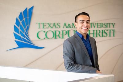 Outstanding Graduate Aaron Aguilar (Health Sciences)