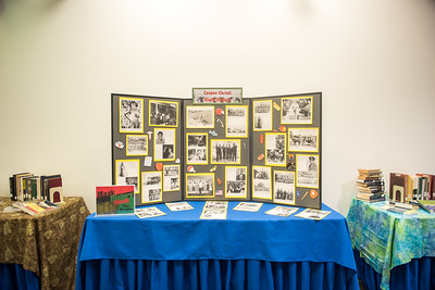 Make sure to stop by campus library and check out Black History month set-up with knowedge from past to present