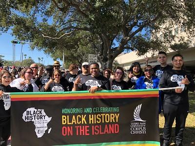 Islanders at MLK march