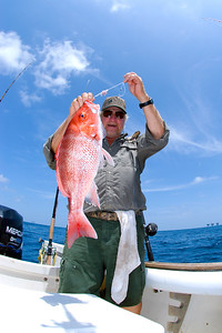 red snapper angler (J Cancelmo)