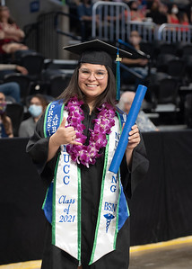 More than 1,200 students graduated during the spring 2021 commencement ceremonies held on Saturday, May 15, at the American Bank Center.