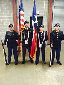 2014 Colorguard for Graduation