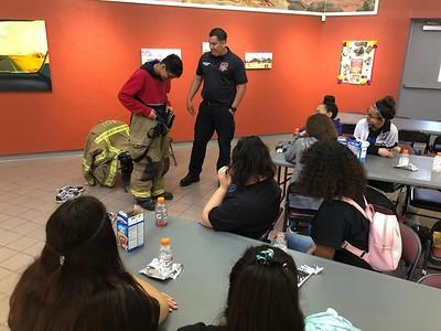 Firefighter visit 2