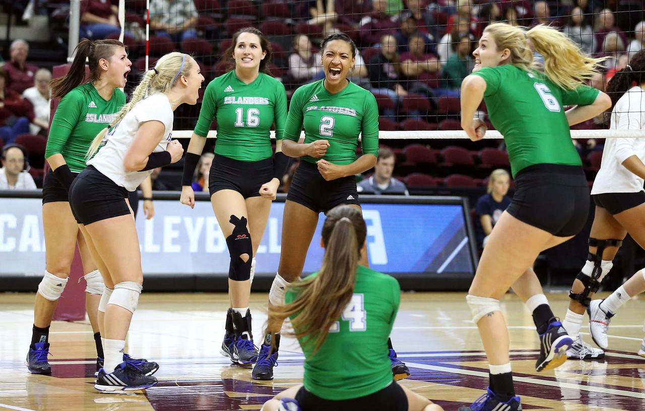 Texas A&M Corpus Christi vs. Texas A&M NCAA Volleyball First Round