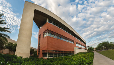 A Panorama of the College of Business - O'Connor building.