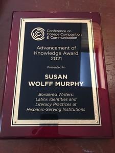 susan wolff murphy award