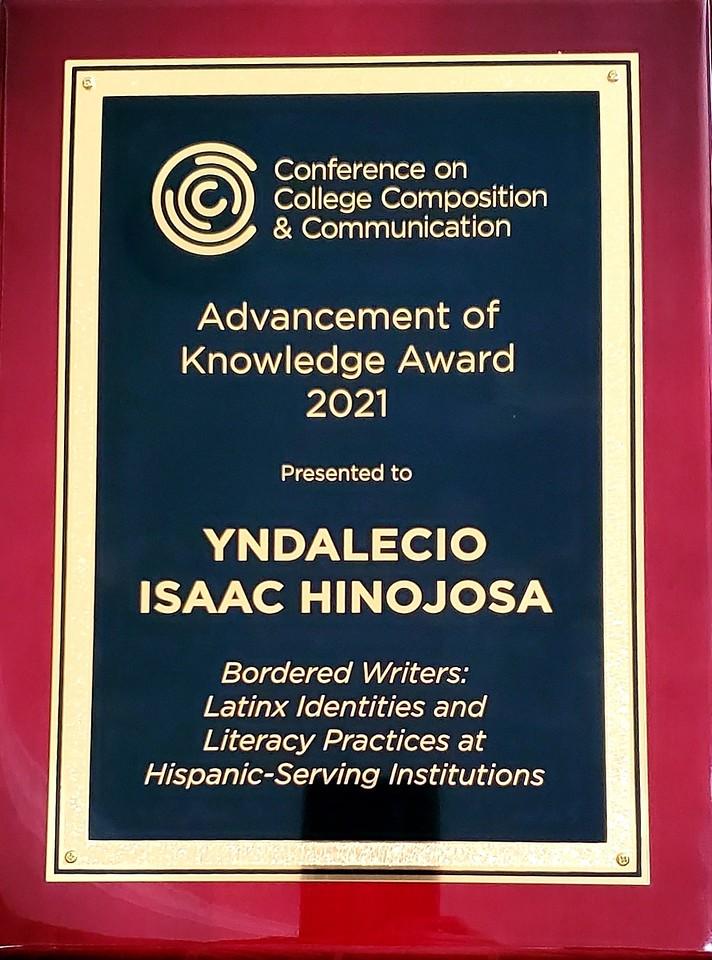 hinojosa award