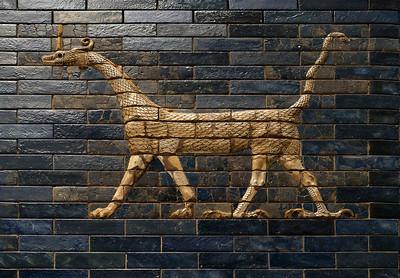Ishtar Gate detail