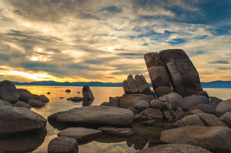 Lake Tahoe, Chimney Beach Rocks