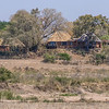 Mala Mala Main Camp, Sand River side view, South Africa.
