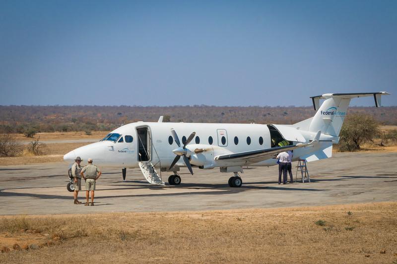 Mala Mala Air Strip, South Africa.