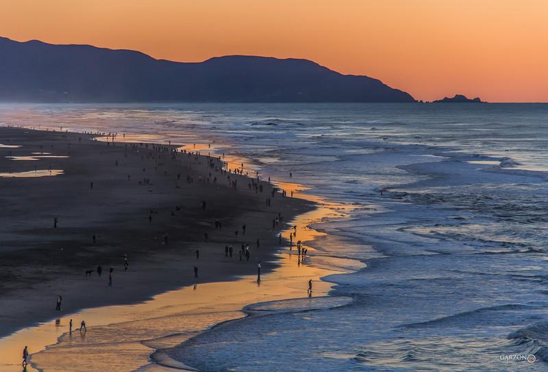 Ocean Beach, San Francisco, Ca.