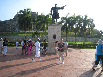 San Felipe Fortress, Cartagena, Columbia