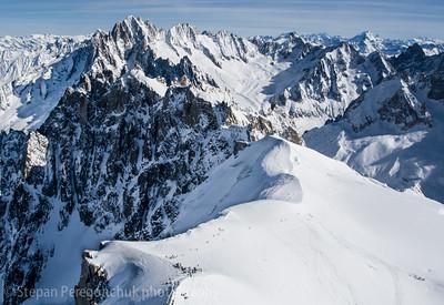 White valley route, Chamonix