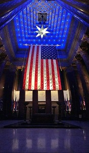 A Nighttime Visit to the Indiana War Memorial