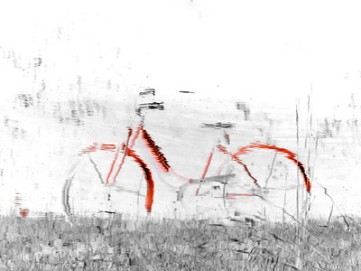 The Odd Red Bike
