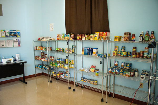The New College Food Pantry is open 24 hours a day, seven days a week.