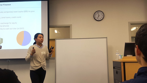 Xinxin Wang of the University of North Carolina-Chapel Hill, talked about financial markets, alternative modes of finance, venture capital, entrepreneurship, and how to apply and get into a top-ranked college. The lecture was part of New College's Economics and Finance Mentorship Program.