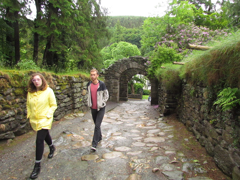 New College students toured Ireland in June as James Joyce Scholars.