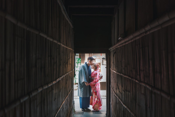 Bear Kyoto Pre-wedding