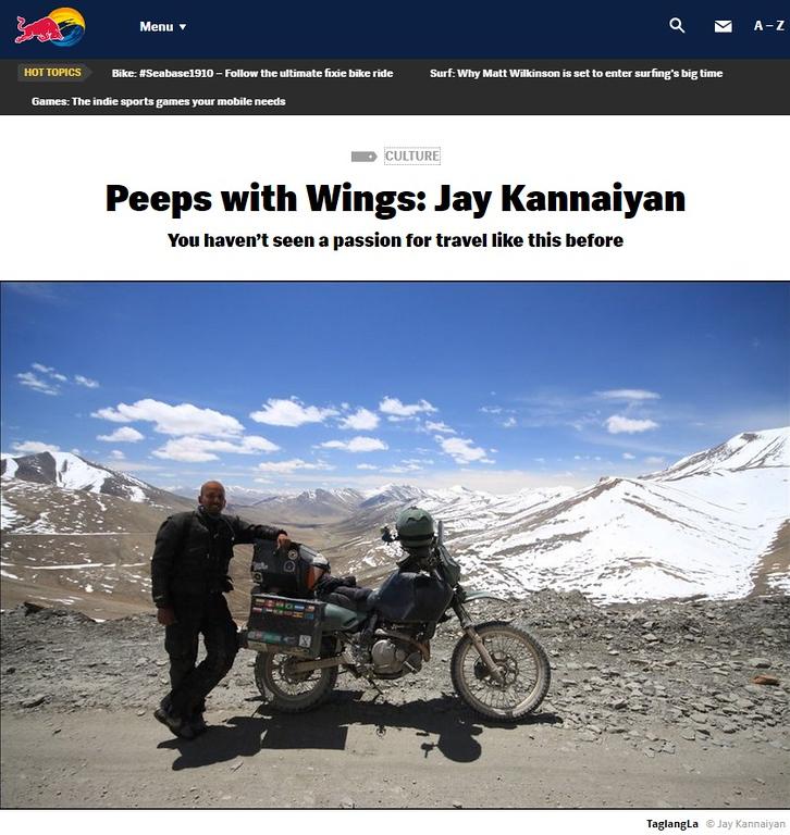 RedBull and Jay Kannaiyan