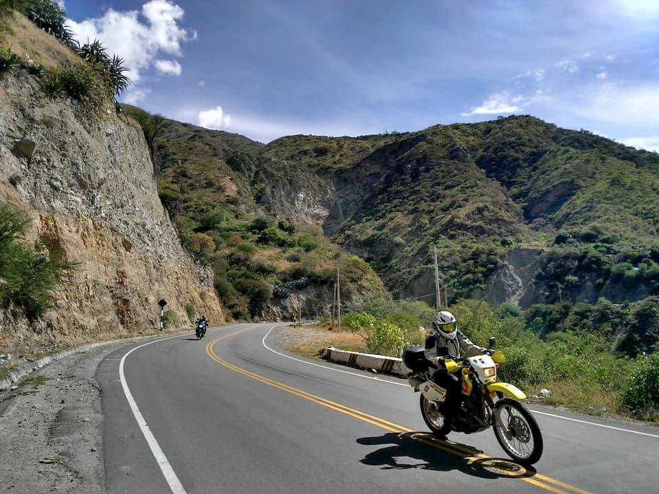 Adventure Motorcycle Tour in Peru