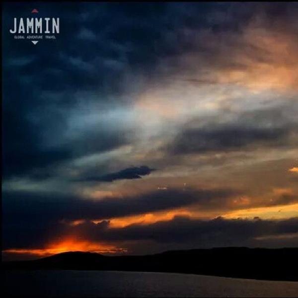 Sunset at Ogui Lake