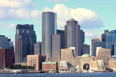 Boston from Boston Harbor