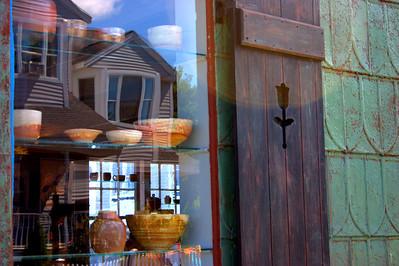 Shop Window Reflection, Gloucester, MA
