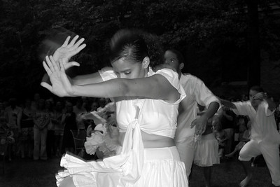 Puerto Rican folkloric dancers at MFA Boston on August 7, 2009