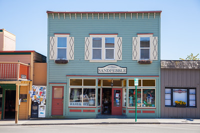 Storefront, Friday Harbor, San Juan Islands