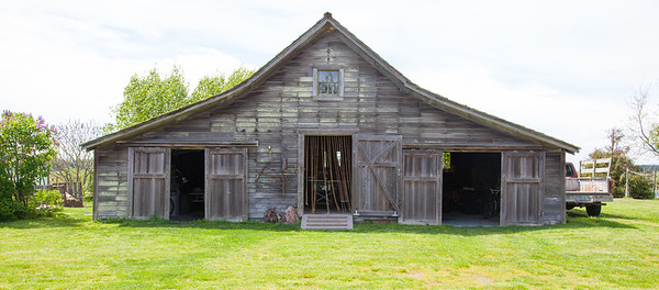 Barn at Sunnyfield Farm, Lopez Island