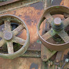 Pulleys on Old Combine, Friday Harbor, San Juan Islands
