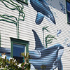 Mural on Building, Friday Harbor, San Juan Island