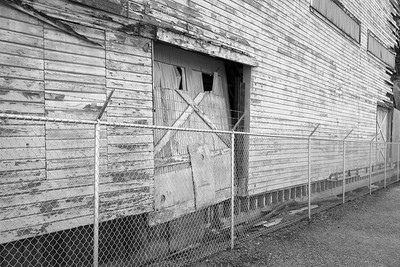 Abandoned building, La Connor, Washington