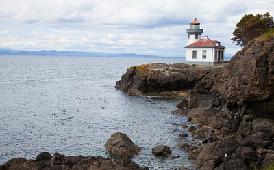 Lighthouse at English Camp, San Juan Island
