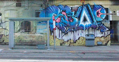 Mural, Broadview Avenue, Toronto