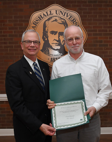 Dr. Dan Holbrook & Dr. David Trowbridge (not pictured)<br /> 2017-18 Hedrick Program Grant for Teaching Innovation