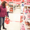 Robert Inglis/The Daily Item  Jessica Thompson, Danville, had to do some last minute unplanned Christmas Shopping on Christmas Eve at Target in the Monroe Market Place.